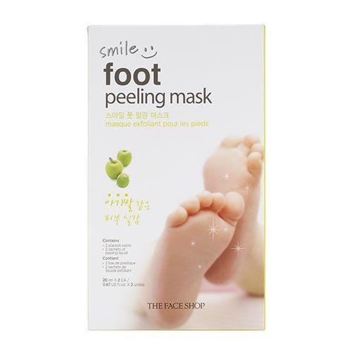 The Face Shop Smile Foot Peeling Mask 20ml korean cosmetic skincare shop malaysia singapore indonesia