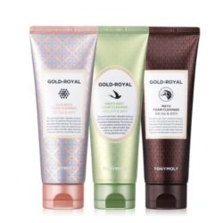 Tony Moly Gold Royal Foam Cleanser 3 Set korean cleanser product online shop malaysia china thailand