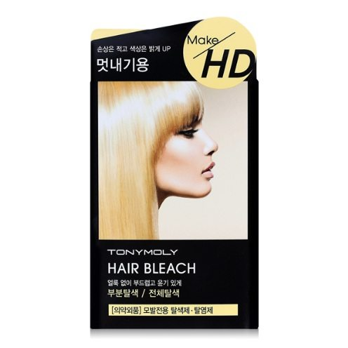 Tony Moly Make HD Hair Bleach korean cosmetic skincare product online shop malaysia nepal bhutan