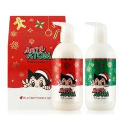 Tony Moly Merry Atom Milky Body Couple Set korean cosmetic skincare product online shop malaysia nepal bhutan