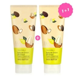 Tony Moly Natural Green Moisture Foam Cleanser Set korean cleanser product online shop malaysia china thailand