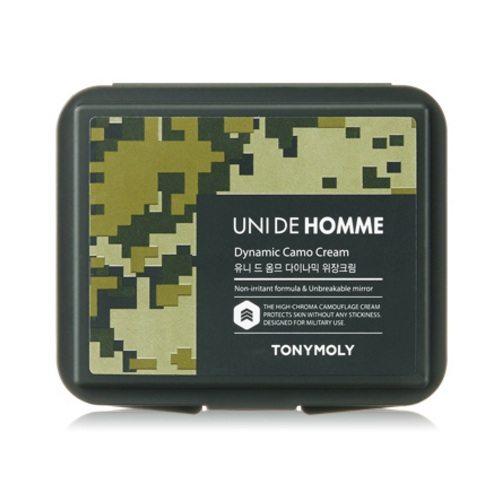 Tony Moly Uni De Homme Dynamic Camo Cream korean men skincare product online shop malaysia singapore macau