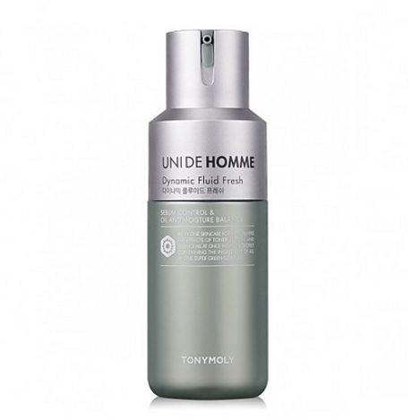 Tony Moly Uni De Homme Dynamic Fluid Fresh korean men skincare product online shop malaysia singapore macau