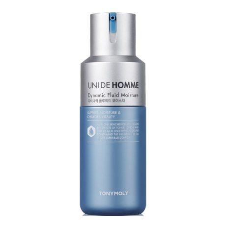 Tony Moly Uni De Homme Dynamic Fluid Moisture korean men skincare product online shop malaysia singapore macau