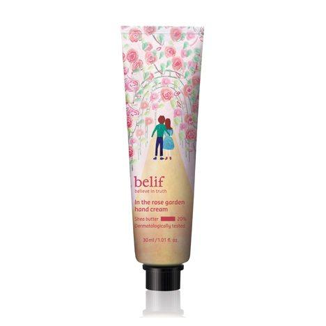 Belif In The Rose Garden Hand Cream korean cosmetic body hair product online shop malaysia vietnam pakistan