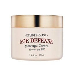 Etude House Age Defense Massage Cream 100ml korean cosmetic skincare shop malaysia singapore indonesia