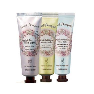 Etude House Hand Bouquet Hand Cream 50ml korean cosmetic skincare shop malaysia singapore indonesia