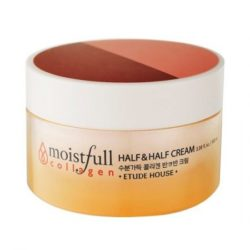 Etude House Moistfull Collagen Half and Half Cream 100ml korean cosmetic skincare shop malaysia singapore indonesia