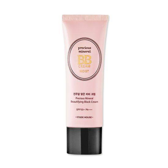 Etude House Precious Mineral BB Cream Moist SPF50+ PA+++ 45g korean cosmetic skincare shop malaysia singapore indonesia
