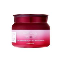 Etude House Red Energy Tension Up Active Firming Cream 60ml korean cosmetic skincare shop malaysia singapore indonesia