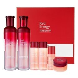 Etude House Red Energy Tension Up SkinCare Set 330g korean cosmetic skincare shop malaysia singapore indonesia