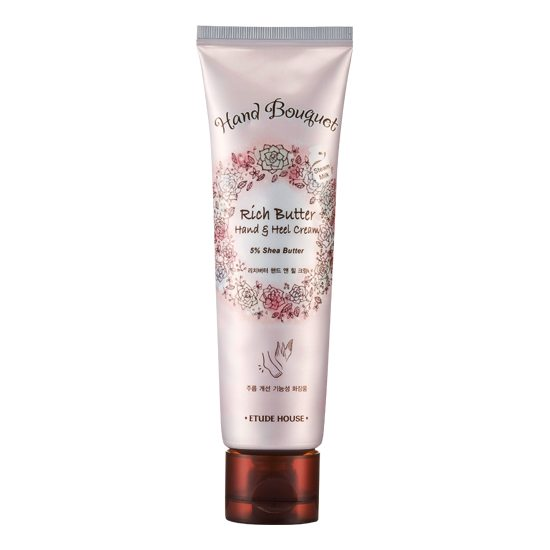 Etude House Hand Bouquet Rich Butter Hand and Heel Cream 100ml korean cosmetic skincare shop malaysia singapore indonesia