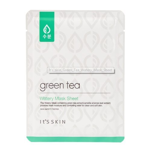It's Skin Green Tea Watery Mask Sheet korean cosmetic skincare product online shop malaysia vietnam macau
