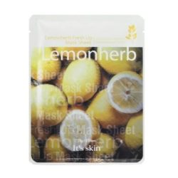It's Skin Lemonherb Fresh Up Mask Sheet korean cosmetic skincare product online shop malaysia vietnam macau