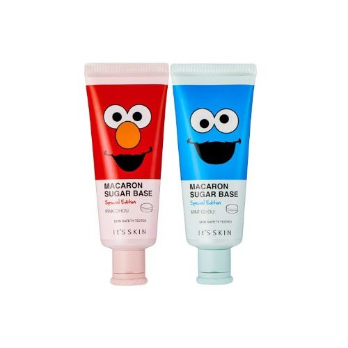 It's Skin Macaron Sugar Base Sesame Street Special Edition korean cosmetic makeup product online shop malaysia brunei mexico