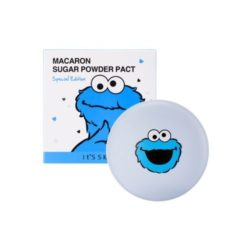 It's Skin Macaron Sugar Powder Pact Sesame Street Special Edition korean cosmetic makeup product online shop malaysia brunei mexico