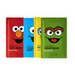 It's Skin Sesame Street Mask Special Edition 20ml korean cosmetic skincare product online shop malaysia vietnam macau