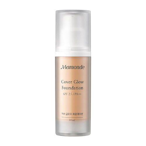 Mamonde Cover Glow Foundation 30ml korean cosmetic skincare shop malaysia singapore indonesia