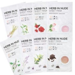 Missha Herb In Nude Sheet Mask 23g korean cosmetic skincare shop malaysia singapore indonesia