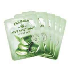 Missha Premium Aloe Sheet Mask 21g x 5ea korean cosmetic skincare product online shop malaysia usa thailand2