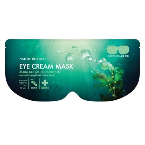 Nature Republic Aqua Collagen Solution Eye Cream Mask korean cosmetic skincare product online shop malaysia australia italy