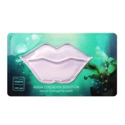 Nature Republic Aqua Collagen Solution Marine Hydrogel Lip Patch korean cosmetic skincare product online shop malaysia australia italy