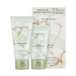 Nature Republic Cotton Armpit Kit korean cosmetic bodyhair product online shop malaysia usa macau