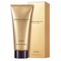 Nature Republic Ginseng Royal Silk Foam Cleanser korean skincare product online shop malaysia China macau