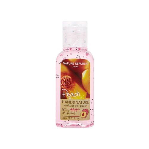Nature Republic Hand and Nature Sanitizer Gel korean cosmetic bodyhair product online shop malaysia usa macau
