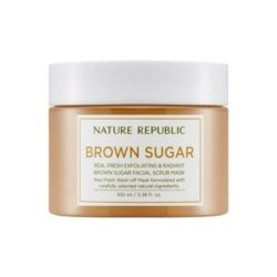 Nature Republic Real Fresh Brown Sugar Facial Scrub Mask korean cosmetic skincare product online shop malaysia australia italy