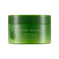 Nature Republic Real Nature Aloe Cleansing Cream korean cosmetic cleanser product online shop malaysia thailand laos