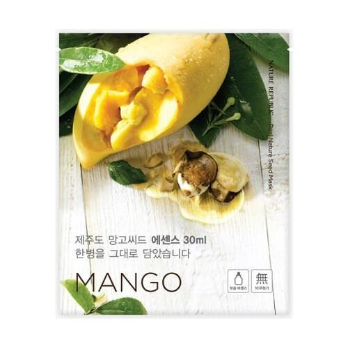 Nature Republic Real Nature Mango Seed Mask korean cosmetic skncare product online shop malaysia australia italy
