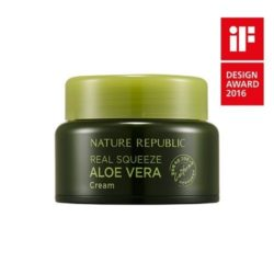 Nature Republic Real Squeeze Aloe Vera Cream korean cosmetic skncare product online shop malaysia australia italy