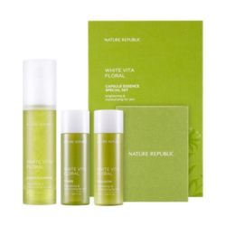 Nature Republic White Vita Floral Capsule Essence Special Set korean cosmetic skncare product online shop malaysia australia italy