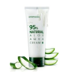 Aromatica 95% Natural Aloe Aqua Cream korean cosmetic skincare product online shop malaysia china japan