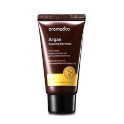 Aromatica Argan Repairing Hair Mask 25 korean cosmetic bodyhair product online shop malaysia vietnam macau