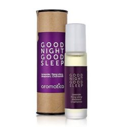 Aromatica Good Night Good Sleep Roll On korean cosmetic bodyhair product online shop malaysia vietnam macau