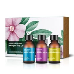 Aromatica Holistic Aromatherapy Massage and Body Oil Set korean cosmetic bodyhair product online shop malaysia vietnam macau