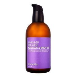 Aromatica Lavender Relaxing Massage and Body Oil 120 korean cosmetic bodyhair product online shop malaysia vietnam macau