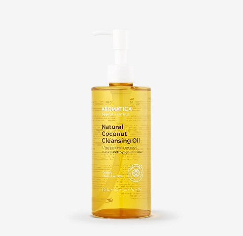 Aromatica Natural Coconut Cleansing Oil 300ml korean cosmetic makeup product online shop malaysia china india