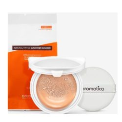 Aromatica Natural Tinted Sun Cover Cushion refill korean cosmetic skincare product online shop malaysia china japan