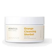 Aromatica Orange Cleansing Sherbetl korean cosmetic cleansing product online shop malaysia China india