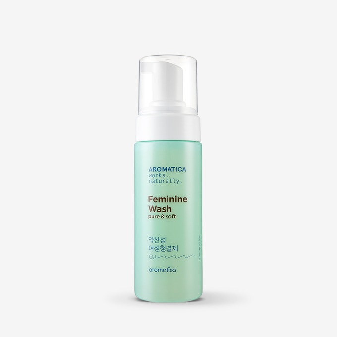 Aromatica Pure and Soft Feminine Wash korean cosmetic skincare product online shop malaysia argentina hong kong china
