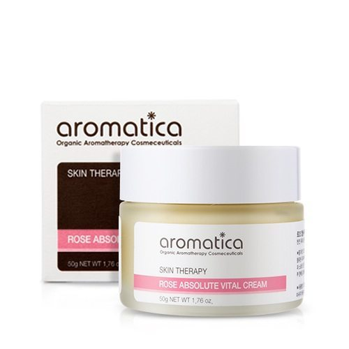 Aromatica Rose Absolute Vital Cream korean cosmetic skincare product online shop malaysia china japan