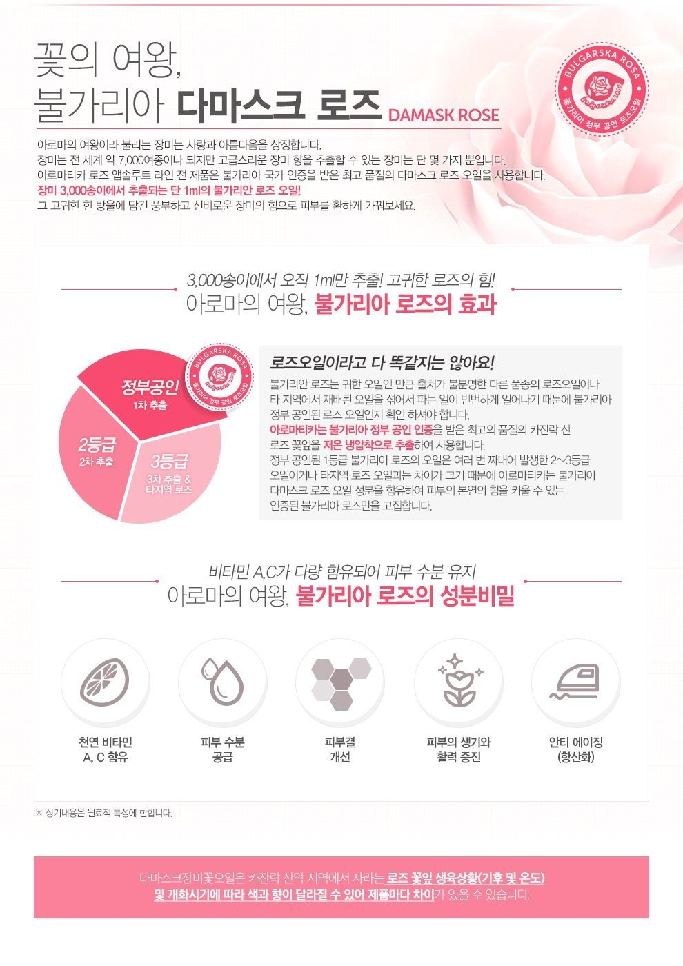 Aromatica Rose Absolute Vital Cream korean cosmetic skincare product online shop malaysia china japan2