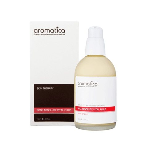 Aromatica Rose Absolute Vital Fluid korean cosmetic skincare product online shop malaysia china japan