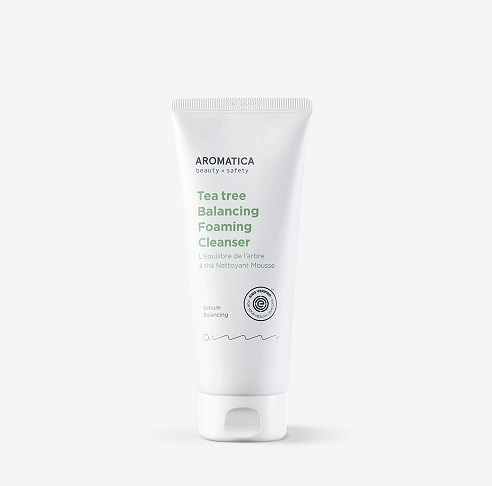 Aromatica Tea Tree Balancing Foaming Cleanser korean cosmetic makeup product online shop malaysia china india