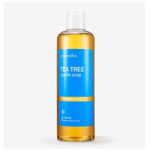 Aromatica Tea Tree Castile Soap korean cosmetic cleanser product online shop malaysia hong kong macau