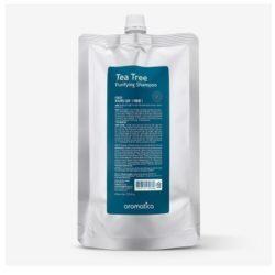Aromatica Tea Tree Purifying Shampoo Refill korean cosmetic bodyhair product online shop malaysia vietnam macau