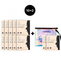 Moonshot Muse Secret Daily Pure Relax Mask Sheet 12pcs korean cosmetic skincare product online shop malaysia usa macau
